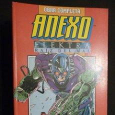 Cómics: ANEXO. ELEKTRA RAIZ DEL MAL. TOMO CON LAS DOS SERIES COMPLETAS. Lote 28656962