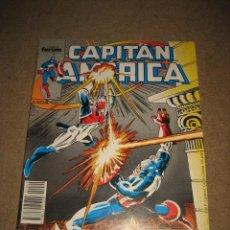 Cómics: CAPITAN AMERICA Nº 49 Y LA APARICION ESTELAR DEL CAPITAN BRITANIA 1988. Lote 28750075