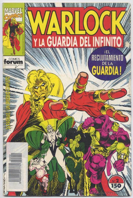WARLOCK Y LA GUARDIA DEL INFINITO, Nº 2 - FORUM (Tebeos y Comics - Forum - Otros Forum)