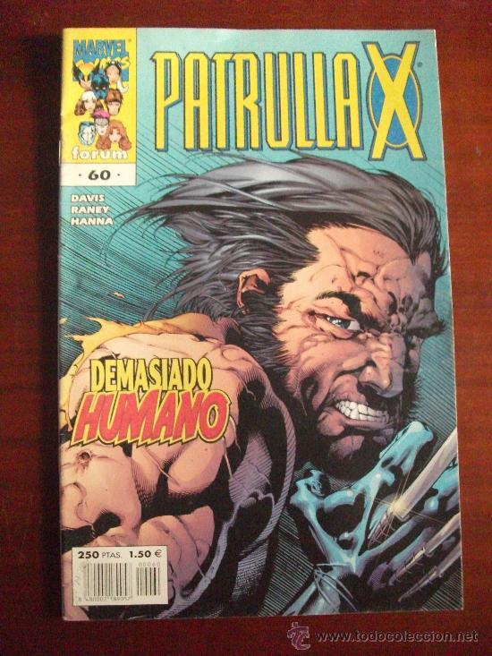 PATRULLA X VOL II Nº 60 COMICS FORUM (Tebeos y Comics - Forum - Patrulla X)
