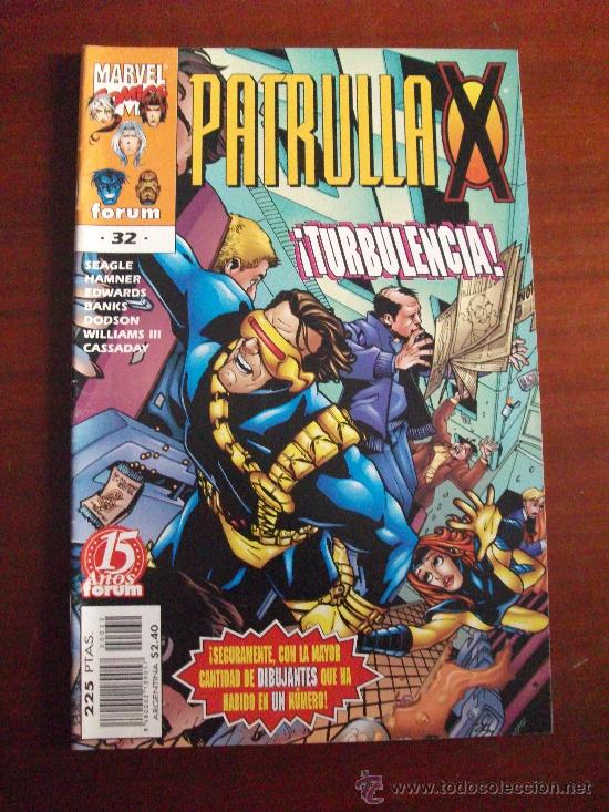 PATRULLA X VOL II Nº 32 COMICS FORUM (Tebeos y Comics - Forum - Patrulla X)