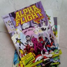 Cómics: ALPHA FLIGHT -LOTE NºS 32 AL 36-. Lote 28931036