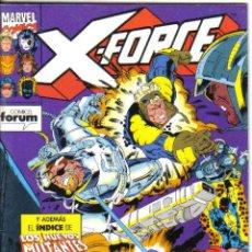 Cómics: X-FORCE Nº 20. CON EL INDICE DE LOS NUEVOS MUTANTES.. Lote 28954415