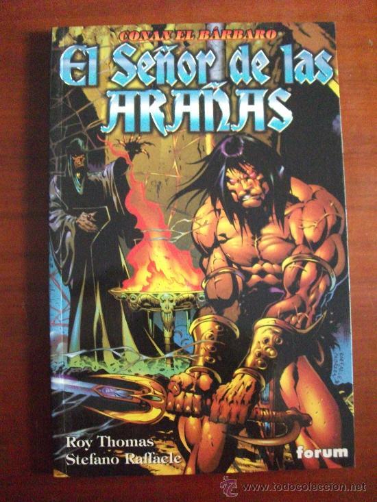 CONAN EL BARBARO EL SEÑOR DE LAS ARAÑAS ALBUM TAPA RUSTICA (Tebeos y Comics - Forum - Prestiges y Tomos)