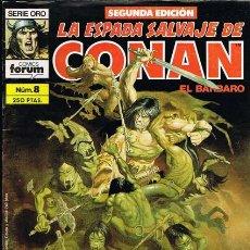 Cómics: LA ESPADA SALVAJE DE CONAN NUMERO 8. CLAVOS ROJOS POR BARRY WINDSOR SMITH. Lote 29150389