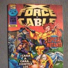 Cómics: X FORCE Y CABLE COMICS FORUM. Lote 29173317