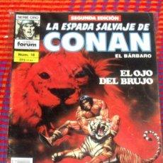 Cómics: LA ESPADA SALVAJE DE CONAN Nº 18. VOL. 1. SEGUNDA EDICION. EL BARBARO. COMICS FORUM.. Lote 29199350