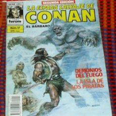 Cómics: LA ESPADA SALVAJE DE CONAN Nº 17. VOL. 1. SEGUNDA EDICION. EL BARBARO. COMICS FORUM.. Lote 29199362