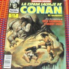 Cómics: LA ESPADA SALVAJE DE CONAN Nº 9. VOL. 1. SEGUNDA EDICION. EL BARBARO. COMICS FORUM.. Lote 29199372