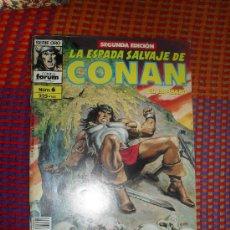 Cómics: LA ESPADA SALVAJE DE CONAN Nº 6. VOL. 1. SEGUNDA EDICION. EL BARBARO. COMICS FORUM.. Lote 29199385