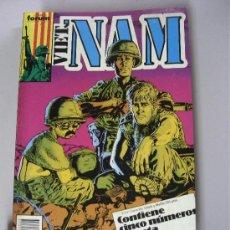 Fumetti: VIETNAM Nº 11,12,13,14 Y 15 / RETAPADO CON 5 NUMEROS / FORUM. Lote 285971828