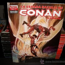 Cómics: LA ESPADA SALVAJE DE CONAN - 36 NUMEROS. Lote 29231067