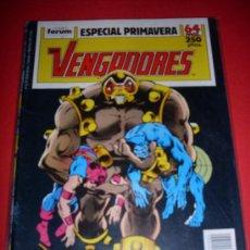 Cómics: FORUM LOS VENGADORES ESPECIAL PRIMAVERA. Lote 29231759
