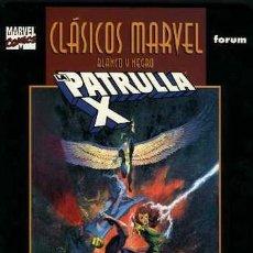 Cómics: CLASICOS B/N: PATRULLA-X: VISIONARIOS, DE ROY THOMAS Y NEAL ADAMS (MARVEL-FORUM). Lote 29239461