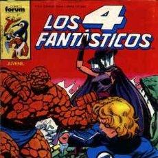 Cómics: LOTE LOS 4 FANTASTICOS VOL.1 Nº 43, 45-57 POR JOHN BYRNE (FORUM-MARVEL-CUATRO FANTASTICOS-HULKA). Lote 29254655