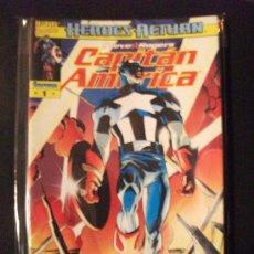 Cómics: CAPITAN AMERICA HEROES RETURN 1 AL 9 COMICS FORUM. Lote 29320282