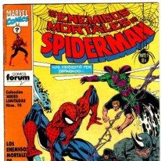 Cómics: OFERTA SPIDERMAN SL: 1 AL 4: ENEMIGOS MORTALES FORUM. Lote 29378493