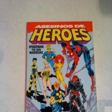 SPIDERMAN & THE NEW WARRIORS (tomo): ASESINOS DE HEROES