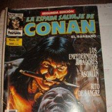 Cómics: COMIC BARBAROS FORUM: CONAN ESPADA SALVAJE 27 KJ-G. Lote 128201798