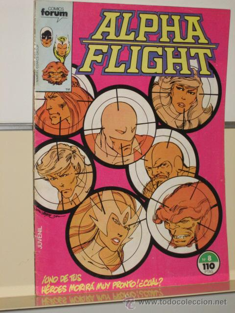 ALPHA FLIGHT VOL. 1 Nº 8 FORUM OFERTA (Tebeos y Comics - Forum - Alpha Flight)