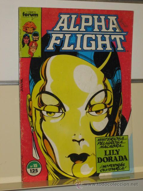 ALPHA FLIGHT VOL. 1 Nº 15 FORUM OFERTA (Tebeos y Comics - Forum - Alpha Flight)