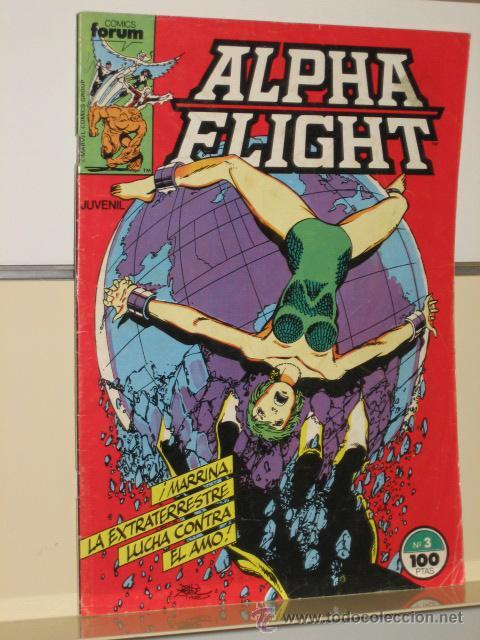 ALPHA FLIGHT VOL. 1 Nº 3 FORUM OFERTA (Tebeos y Comics - Forum - Alpha Flight)