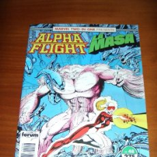 Cómics: ALPHA FLIGHT / LA MASA Nº 48 - VOL. 1 - FORUM. Lote 29582577