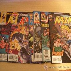 Comics: KA-ZAR, LOS 7 PRIMEROS NÚMEROS DE LA COLECCIÓN, EDITORIAL FORUM. Lote 29633736