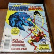 Cómics: COMIC IRON MAN CAPITAN MARVEL Nº 44.- DOS HOMBRES DE HIERRO. Lote 29702205