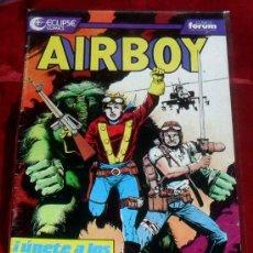 Cómics: AIRBOY Nº 2 COMICS ECLIPSE COMICS FORUM 165 PTAS. Lote 29705524