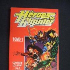 Cómics: HEROES DE ALQUILER - TOMO 1 - NUMEROS 1 AL 5 - FORUM - SIN LEER - . Lote 29749051