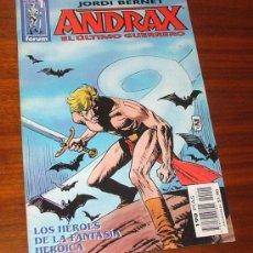 Cómics: CÓMIC 'ANDRAX, EL ÚLTIMO GUERRERO Nº1: LOS HÉROES DE LA FANTASÍA HEROICA' (JORDI BERNET). Lote 29794140