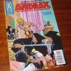 Cómics: CÓMIC 'ANDRAX, EL ÚLTIMO GUERRERO Nº5: EL DIOS ROBOT' (JORDI BERNET). Lote 29794258