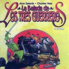 Cómics: LA BALADA DE LOS TRES GUERREROS - FORUM - TOMO 128 PÁGINAS - 1998 - THOR - CHARLES VESS. Lote 54016037