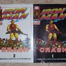 Cómics: EPIC PRESENTS Nº 7 Y 8 - IRON MAN CRASH - NOVELA GRÁFICA COMPLETA. Lote 79951482