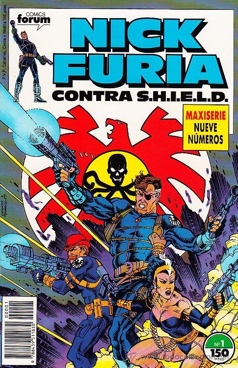 COMPLETA - NICK FURIA CONTRA SHIELD # 1 AL 9 (FORUM,1989) - NICK FURY (Tebeos y Comics - Forum - Furia)