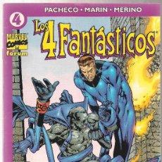 Cómics: LOS 4 FANTÁSTICOS FORUM VOL IV Nº 4. Lote 29840583