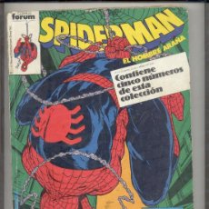 Cómics: SPIDERMAN FORUM RETAPADO 196 AL 200 . Lote 33671092