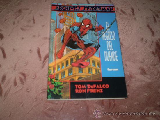 ARCHIVOS SPIDERMAN. EL REGRESO DEL DUENDE (Tebeos y Comics - Forum - Prestiges y Tomos)