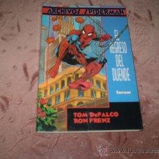 Cómics: ARCHIVOS SPIDERMAN. EL REGRESO DEL DUENDE. Lote 30032436