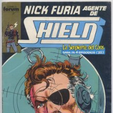 Cómics: NICK FURIA, AGENTE DE SHIELD - Nº 9 - COMICS FORUM. Lote 30097372
