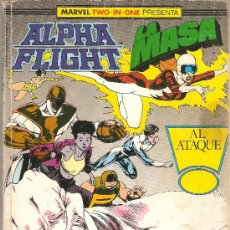 Cómics: MARVEL TWO IN ONE : ALPHA FLIGHT / LA MASA VOL. 1 - 42, 43 Y 44 / RETAPADO CON 3 NUMEROS / FORUM. Lote 30113230