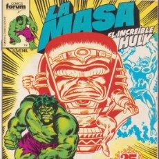 Comics: LA MASA VOL 1 FORUM N 25. Lote 30146289