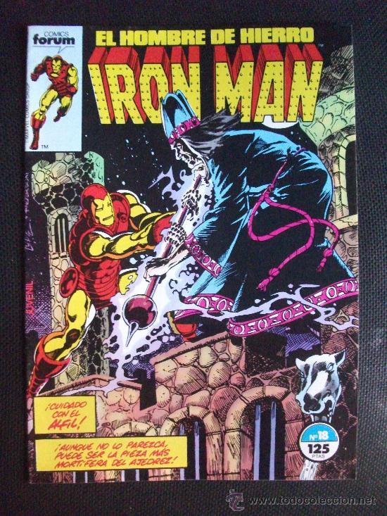 IRON MAN Nº 18 COMICS FORUM (Tebeos y Comics - Forum - Iron Man)