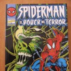 Cómics: SPIDERMAN EL PODER DEL TERROR, NOVELA GRAFICA 100 PAGINAS. Lote 30246359