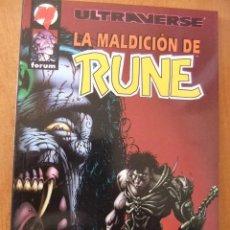 Cómics: LA MALDICION DE RUNE, NOVELA GRAFICA. Lote 30246431