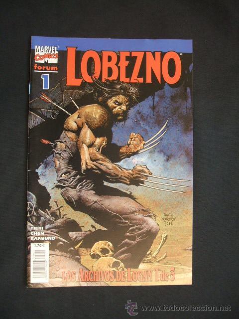 LOBEZNO - LOS ARCHIVOS DE LOGAN - 1 DE 3 - FORUM - NUEVO - SIN LEER - (Tebeos y Comics - Forum - Otros Forum)
