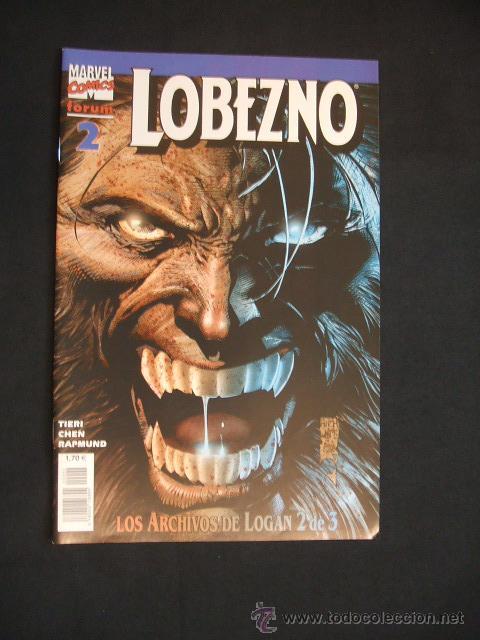 LOBEZNO - LOS ARCHIVOS DE LOGAN - 2 DE 3 - FORUM - NUEVO - SIN LEER - (Tebeos y Comics - Forum - Otros Forum)