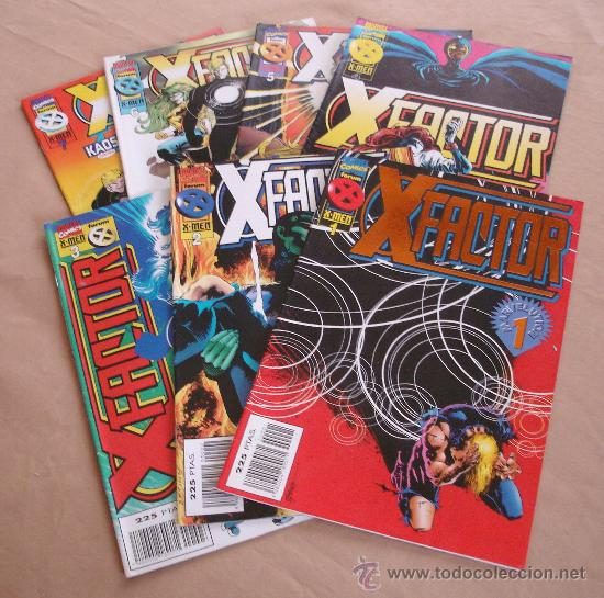 FACTOR X - LOTE DE 7 COMICS - VOLUMEN 2 - NºS DEL 1 AL 7 (Tebeos y Comics - Forum - Factor X)