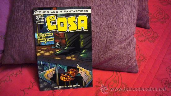 ICONOS LOS 4 FANTÁSTICOS - LA COSA - CAE LA NOCHE SOBRE YANCY STREET - FORUM - EVAN DORKIN & HASPIEL (Tebeos y Comics - Forum - 4 Fantásticos)